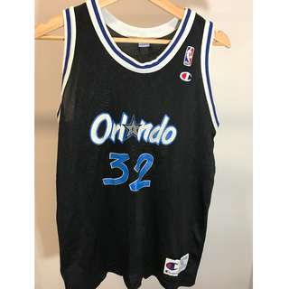 Champion Orlando Magic Shaquille O'Neal Jersey