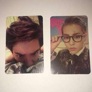 Chanyeol And Xiumin Photocard