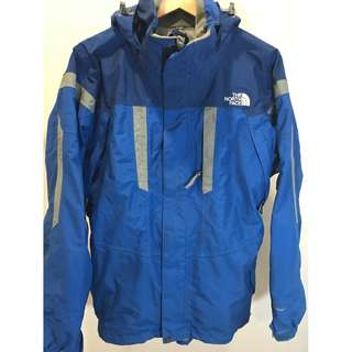 The North Face Blue hyvent Jacket