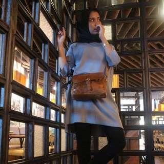 Tas Kulit Asli Wanita Sling Bag (Real Leather No Faux)