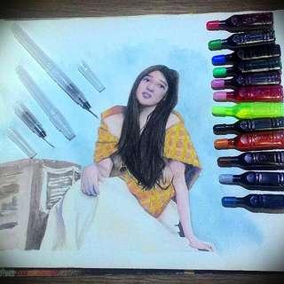 Sakura Water Color Brush Pen
