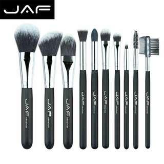 JAF Fan Brush Make Up 10 Set