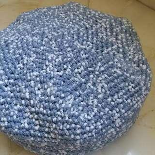 Crochet Pouf / Bean Bag