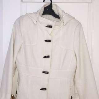 Ivory Coloured Coat