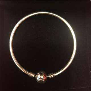 Sterling Silver Pandora Bangle Bracelet