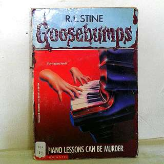 Goosebumps: Piano Lessons Can Be Murder by R.L. Stine