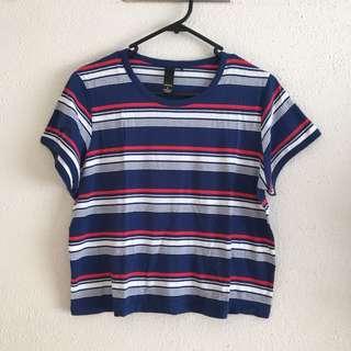 FACTORIE Striped T-shirt