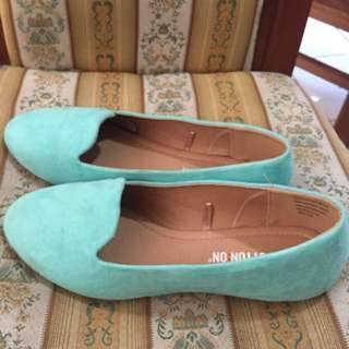 Cotton On Blue Flat Shoes