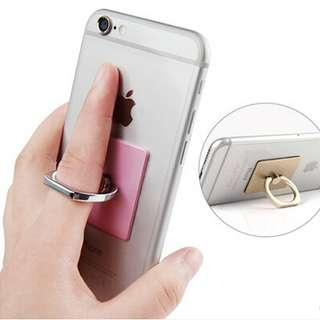 Universal 360 Degree Adjustable Angle IRing Ring Stent Phone Holder Stand Mount