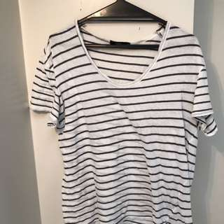 BASSIKE BASIC STRIPED TOP