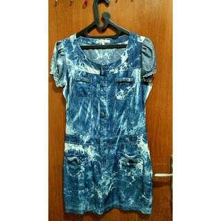 Dress/Baju/ Atasan Biru