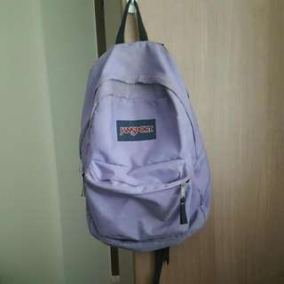 Light Purple Jansport Backpack