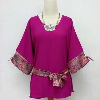 Purple Batik Ribbon🎀