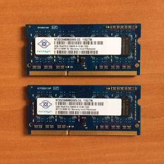 RAM 4Gb (2x2Gb) DDR3