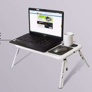 COD!! E-Table Laptop Table Stand Cooler