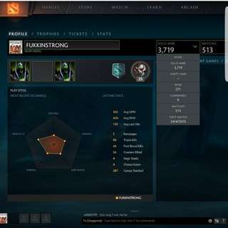 DOTA 2 3K ACCOUNTS!! Market Activated Cheapest Price !!