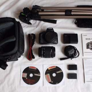 REPRICED! Canon 100D Package