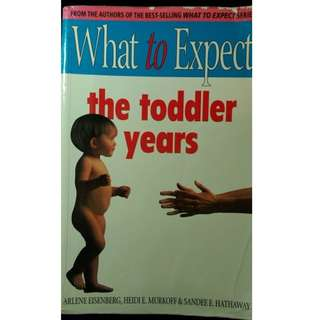 BB 成長教導書 What to expect the toddler years