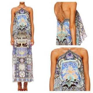 Camilla Weave Of Humanity Halterneck Dress