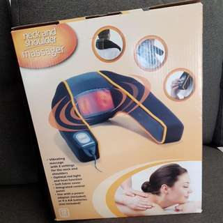 Brand New In Box Neck And Shoulder Massager