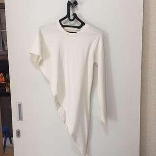 Baju Atasan/top Asimetris
