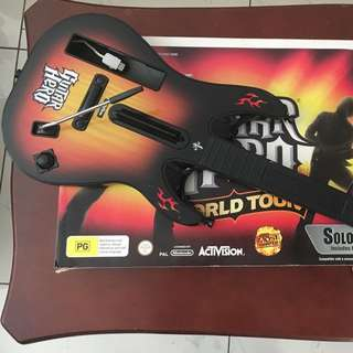 Wii Guitar Hero Greatest Tours + 9 Games