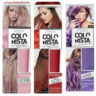 Loreal Colorista Lot Of 3 (Pick Up Only)