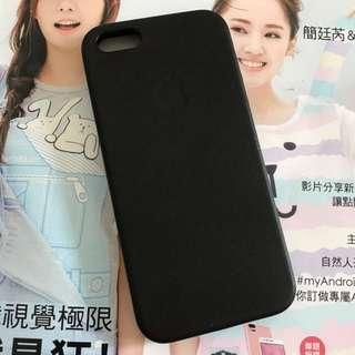 iPhone se 原廠皮革保護殼