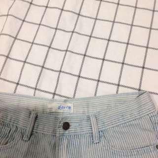 Cotton On Blue Denim Shorts