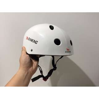 Ranking BMX Bike Cycling Helmet WHITE 58-61cm
