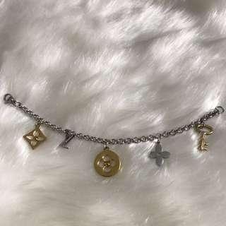 LV Charm Bracelet