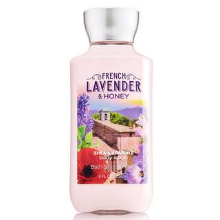 Bath & Body Works French Lavender & Honey Body lotion 236ml   FREE SHIPPING min Php500