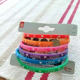 One Direction 1D Wristbands