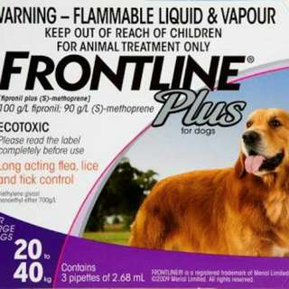 FRONTLINE ANTI TICK&FLEA