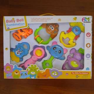 Baby Bell Combination Toys For Babies 0M+