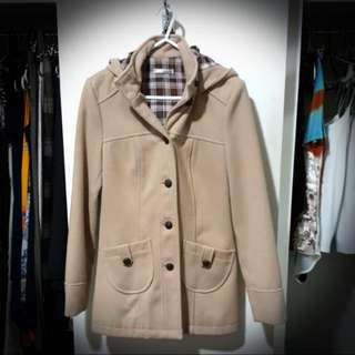 Coat With Hoodie Size 8