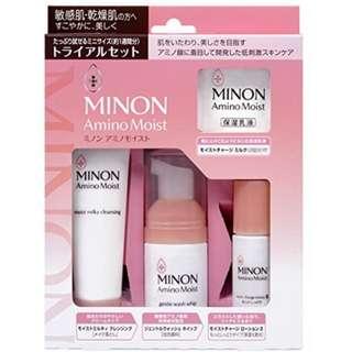 Ready Stock - Minon Amino Moist Trial Set