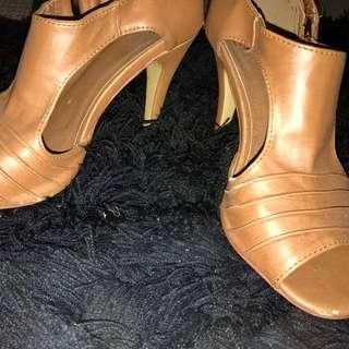 Size 6 NOVO shoes- Nude Colour