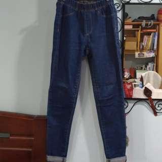 彈性牛仔褲