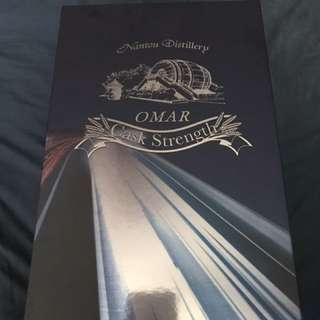 OMAR whisky 70cl + 8cl gift and glass