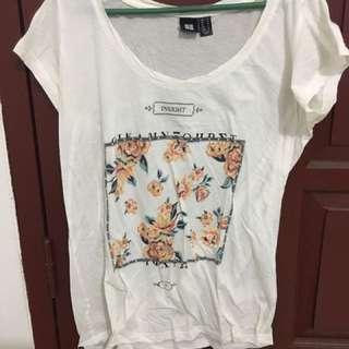 Insight Women Loose White Shirt