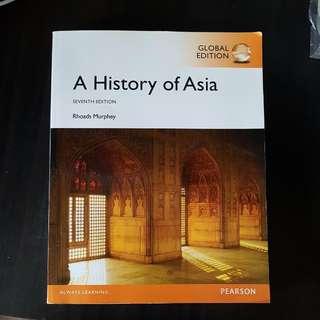 A History of Asia 7th Edition Rhoads Murphey