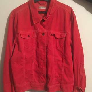 Red Vintage Gap Jacket