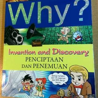 Buku komik edukasi WHY?