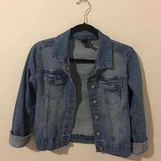 Factories Denim Jacket Size Small