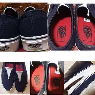 Authentic Vans Gore (Leather Canvas)