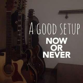 Friendly Guitar Setup Service
