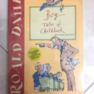 Novel Roald Dahl - Boy Tales