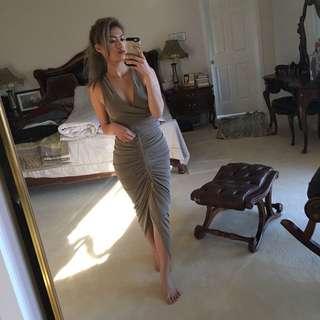 Sheike Bronze Dress Size 6