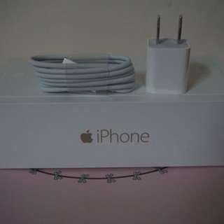 全新原廠蘋果iphone i6 充電線